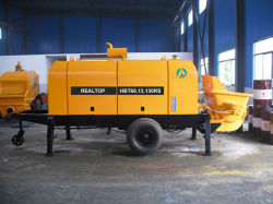Trailer Mounted Concrete Pump (HBT60.13.130RS)