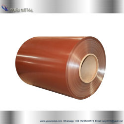 White Prepainted Color Coated Aluminum Coil for Roofing Sheet