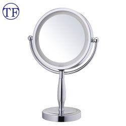 Wholesale lighted makeup mirror china wholesale lighted makeup dual side tabletop lighted illuminated magnifying vanity makeup mirror aloadofball Gallery