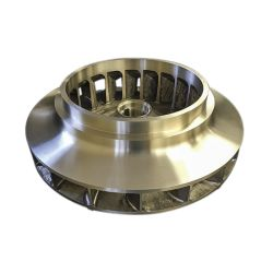 Factory Customized Wholesale Centrifugal Cast Iron/Brass/ Stainless Steel Casting Maching Water Slurry Pump Parts for Machined Impellers