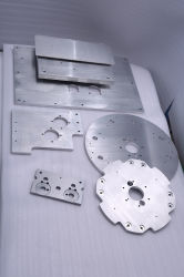 Customization High Precision Al Plate with Nature Anodized