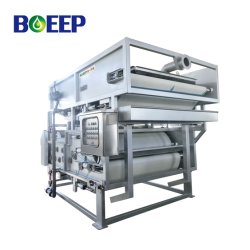 Slurry Filtration Equipment Dewatering System Used in Industrial Wastewater Treatment