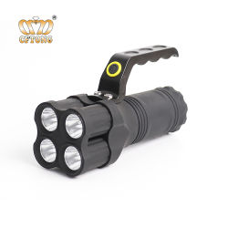 9b3238af9a5 Promotion Cheap High Power ABS Plastic Blink Flood 4 LED Flashlight