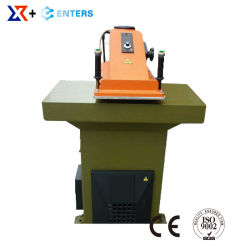 Leather Sport Shoe Swing Arm Die Cutting Press Making Machine for Upper Forming