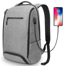 OEM Fashion Leisure Travel Sport Laptop iPad USB Charger Backpack Bag for  Computer 915862c56c