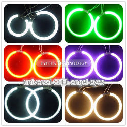 Universal CCFL Angel Eyes with White Yellow Red Blue Green Colors