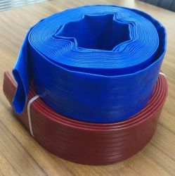 Heavy Duty Slurry Discharge Layflat Pipe Hose for Mining and Marine Service