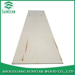 Commercial Pine Face /Back Plywood Used for Furniture