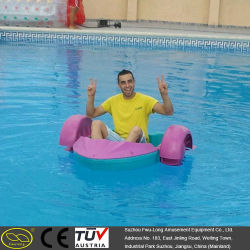 HDPE Blow Plastic Outdoor Kids Hand Paddle Boat