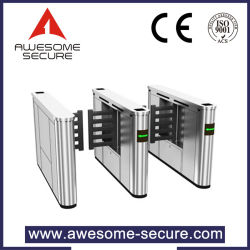 Elegant Flap Swing Type Entrance Barrier Widely Applied as Security Control and Paid Access Gate