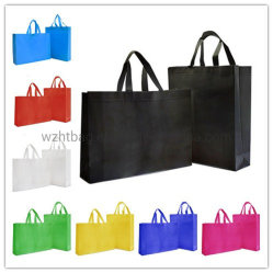 Wholesale Factory Low Price Duarable Promotional Customized Printing Shoppping Eco Friendly Tote Non-Woven Recyclable Handle Promotional PP Non Woven Bag