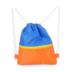 Outdoor Drawstring Gym Swim School Sport Dance Shoes Beach Backpack Mesh Bag