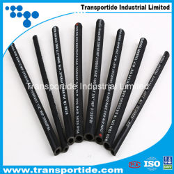 Factory SAE100 R1/1sn R2/2sn Flexible Industrial Hose/High Pressure Hydraulic Rubber Hoses