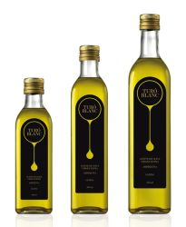 Cheap Empty Marsca Bottle 250ml 500ml 750ml 1000ml Olive Oil Glass Bottle in Stock