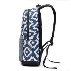 Canvas Backpack Leisure Bags for School Sport Hiking Shopping Travelling (BSBK0072)