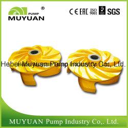 Acid Resistant High Chrome Alloy Oil Sand Handling Slurry Pump Impeller