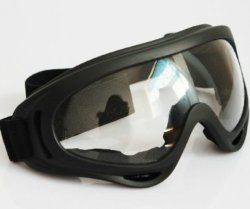 Orange Airsoft X400 Tactical Wind Dust Protection Goggle