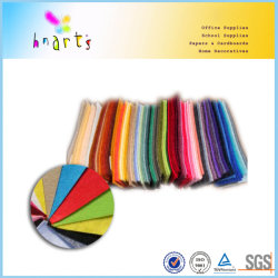160GSM Polyester Color Felt Fabric Sheet for Craft