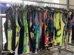 in-Stock Lot Sports Cultural Vest T-Shirt Garments for Sale