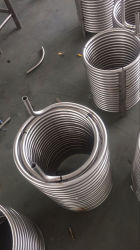 Custom Processing of Stainless Steel Heat Transfer Coil