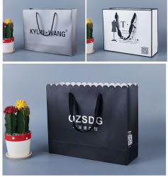Customized Gift Paper Shopping Carrier Bag