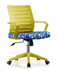 Office Chair Web Chair Capable of Lifting and Rotating an Employee's Chair
