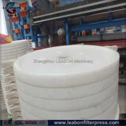 China Round PP Slurry Dewatering Recessed Chamber Filter Press Plate