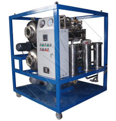 Customized Stainless Steel Vacuum Transformer Oil Filtration Plant