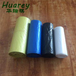 Trash Drawstring Tie-Handle Biodegradable Compostable Plastic Garbage Bag with Household