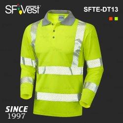 f94a0181 Poly Cotton Customized Microfiber Hi-Vis Reflective Safety Polo Shirts  China Wholesale