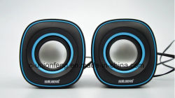Fashioable Design USB Mini Speaker 2.0 PC Speaker for Laptop Competitive Price Q Shape