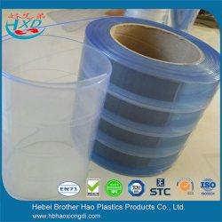 Polar Transparent Light Blue PVC Strip Curtain (Nylon Reinforced)
