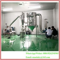Continuous Superfine Industry Micron Air Classifier Pulverizer Mill for 200/300/400 Mesh Supreme Fine Food/Chemicla/ Pharmaceutical Medicine Industry Powder