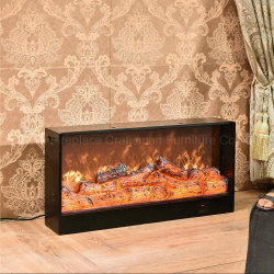 MDF Electric Fireplace LED Lights Furnace Core with Ce (T-304S)