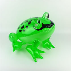 PVC or TPU Inflatable Baby Bath Small Frog Toy