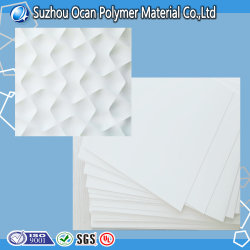 Glossy White PVC Sheet for Building Material
