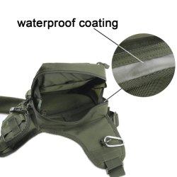 Waterproof Fishing Tackle Bag Backpack Sports Sling Shoulder Crossbody Nylon Bag Pack Outdoor Sports