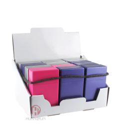 Wholesale Mixed Color Plastic Waterproof 20 PCS Cigarette Case