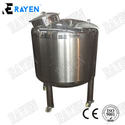 Sanitary Stainless Steel Slurry Mixing Tank Powder Tank