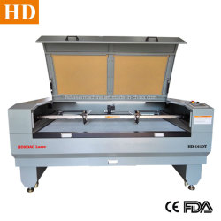 Sportwear Laser Cutting Machine 1600X1000mm Area