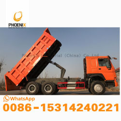 Excellent Quality 336 HP HOWO Dump Truck10 Tires with Best Price for Africa