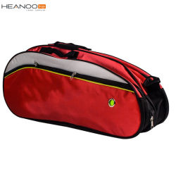 Black Unisex Waterproof 6 Racket Kit Racket Badminton Bag