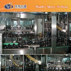 Glass Bottle Fruit Juice Filling Machine 3-in-1 Monoblock