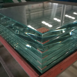 19mm Ultra Large Low-Iron Safety Tempered for External Wall