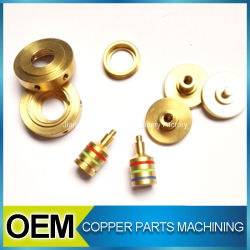 Precision Copper Brass Screw Milling Micro Machining