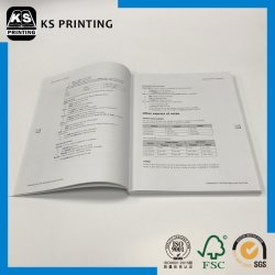 Professional Book Printing Service Textbook Printing Paperback