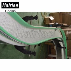 Hairise Slat Portable Container Bend Pallet Chain Industrial Food Conveyor
