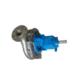 Isa80-40 Stainless Steel A05 Centrifugal End Suction Slurry Pumps