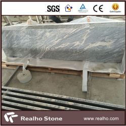 China Sand Juparana Wave Granite Kitchen Countertops Prices