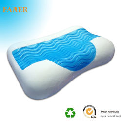Cooling Blue Gel Memory Foam with Contour Gel Layer